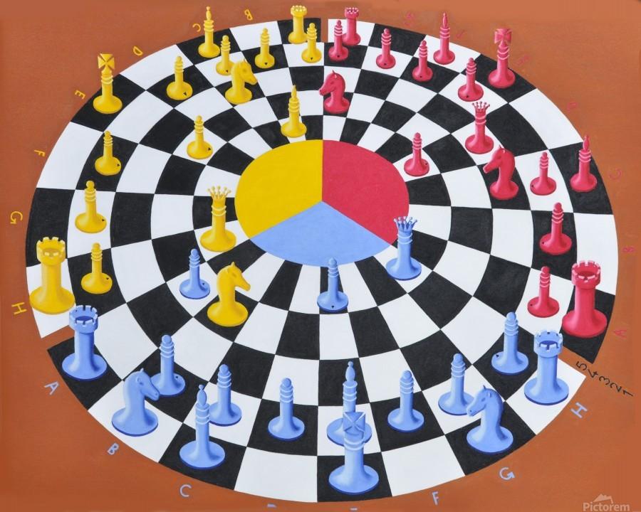 Chess-3-bounce  Print