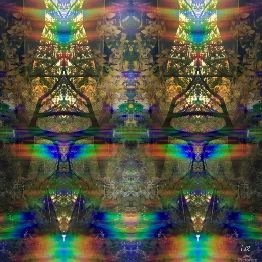 Colliding Universes  Print
