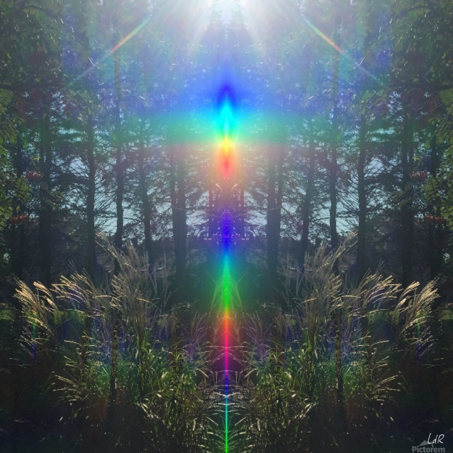 Rainbow Light  Print