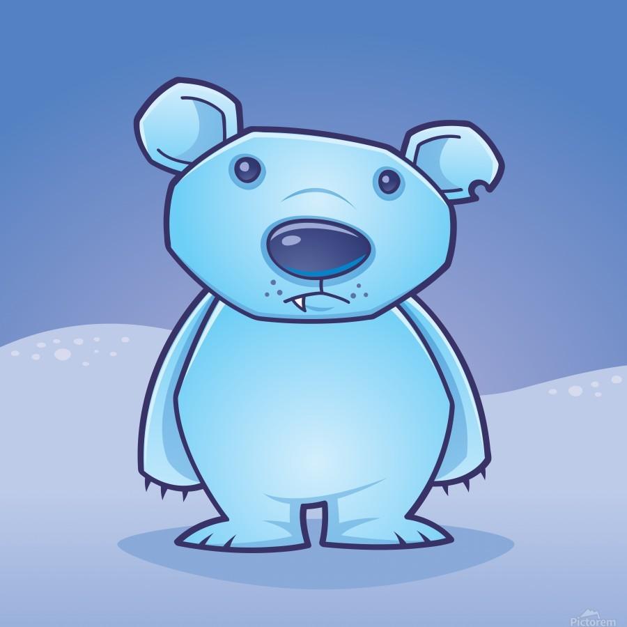 Polar Bear Cub  Print