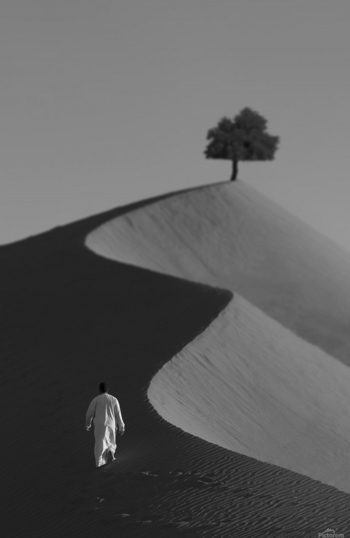 The Omani Desert  Print