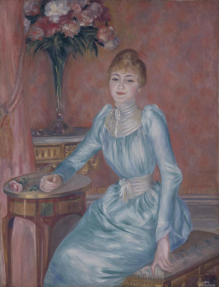Portrait of Madame de Bonnieres  Print