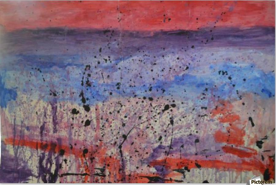 Abstract Sunset Wonder  Print