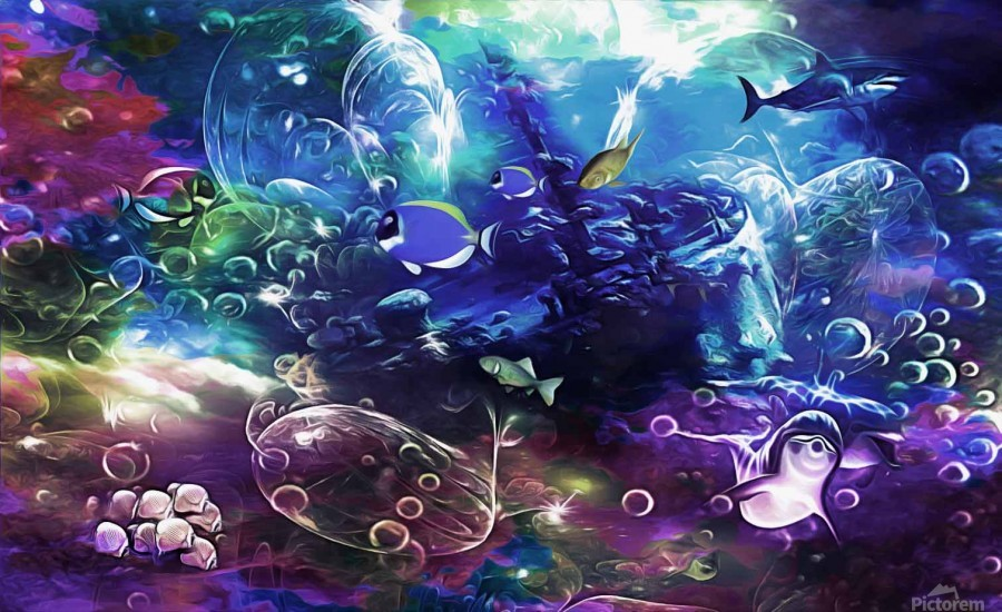 Deep sea 1  Print