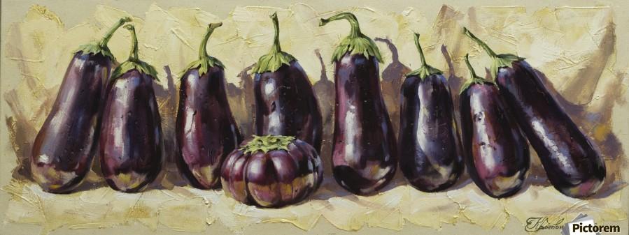 Eggplant  Print