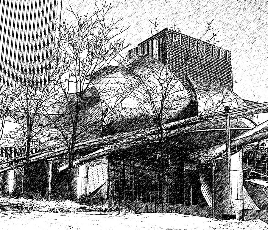 Millenium Park Chicago  Print