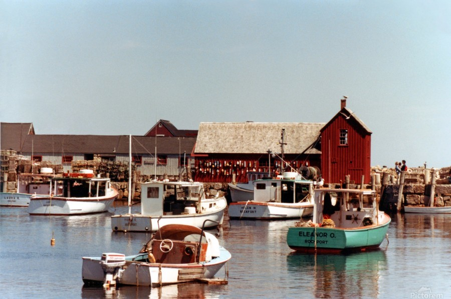 rockport retouched  Print