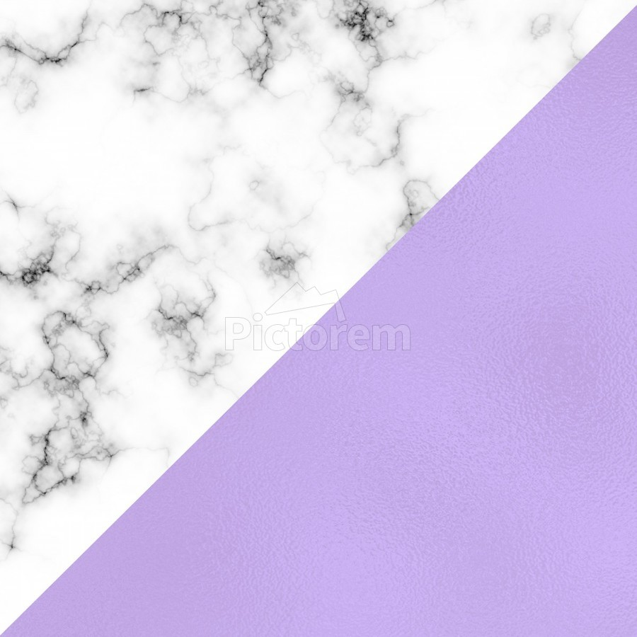 ABSTRACT MODERN PURPLE GLASS MARBLE  Print