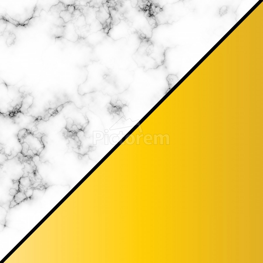 ABSTRACT MODERN YELLOW MARBLE  Print