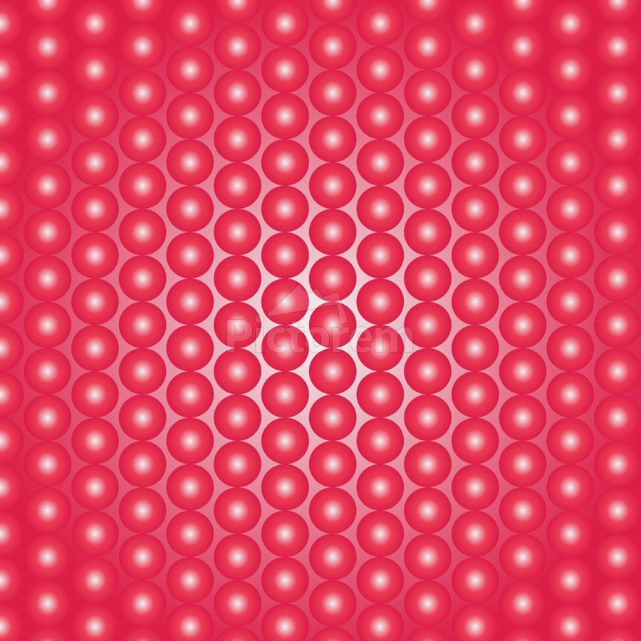 Red Pearl Pattern  Print