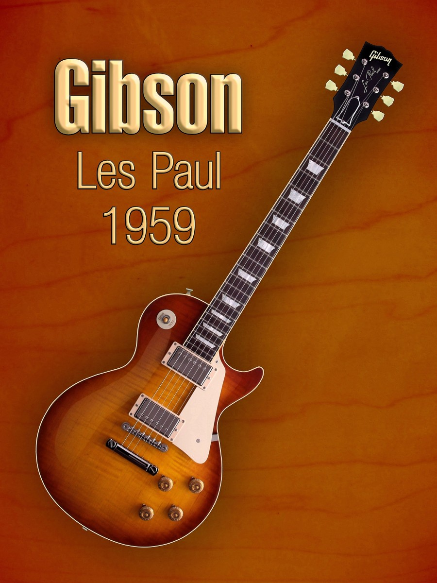 Vintage Gibson Les paul 1959  Print