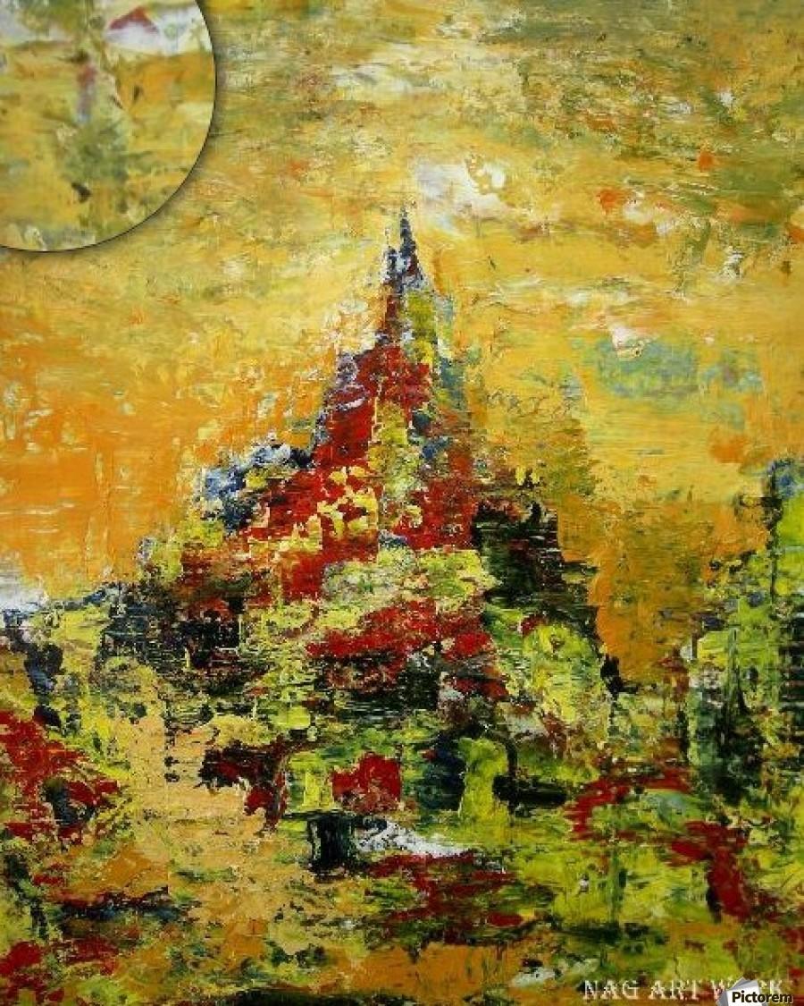 Mount Temple  Print