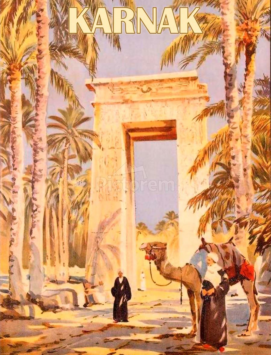 Karnak  Print