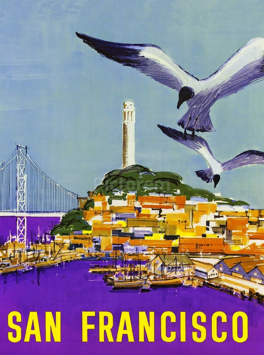 San Francisco Bay  Print
