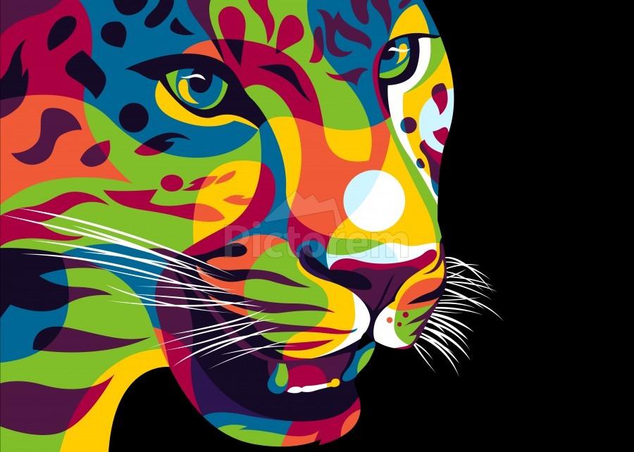 The Jaguar Gaze  Print