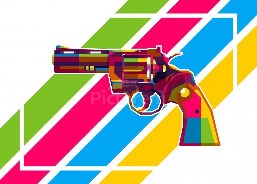 Python Handgun  Print