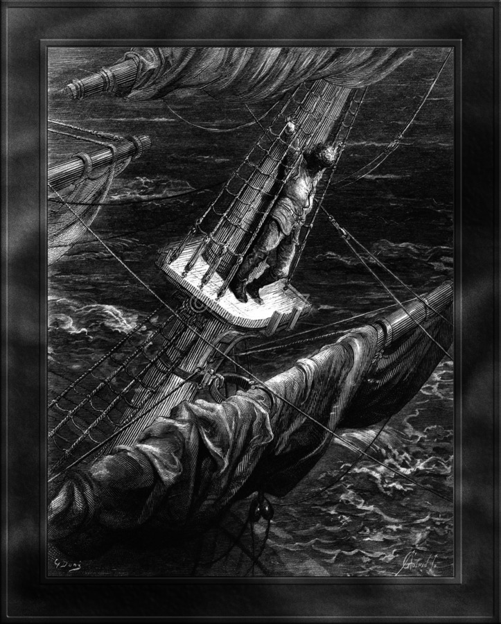 I Had Done a Hellish Thing by Gustave Dore Classical Fine Art Xzendor7 Old Masters Reproductions  Print