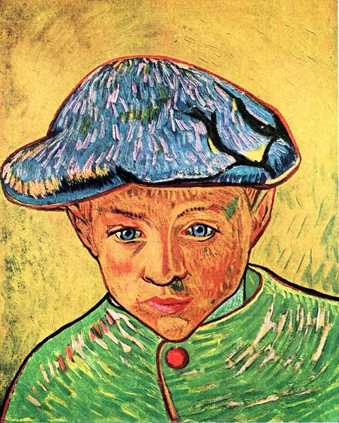 Camille Roulin by Van Gogh  Print