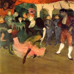 Chilperic by toulouse lautrec toulouse lautrec canvas for Old house music artists