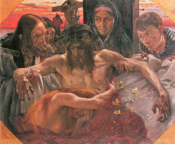 Crucify by Lovis Corinth  Print