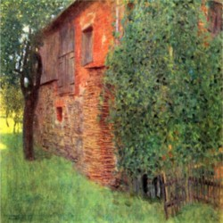 Farmhouse in Chamber in Attersee by Klimt  Print