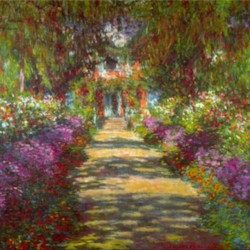 Giverny by Monet  Print