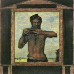 Pan by Franz von Stuck  Print