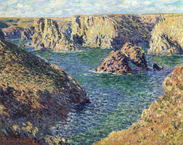 Port-Donnant by Monet  Print
