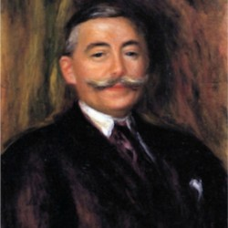 Portrait of Maurice Gangnat by Renoir  Print