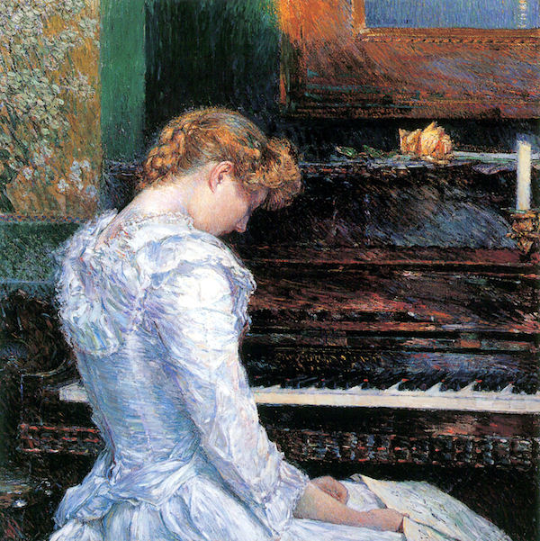 The Sonata by Hassam  Print