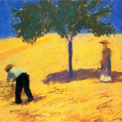 Tree in Cornfeld by Macke  Print