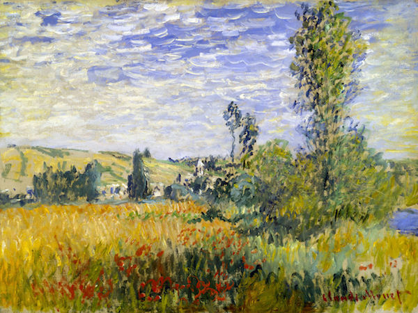 Vetheuil by Monet  Print
