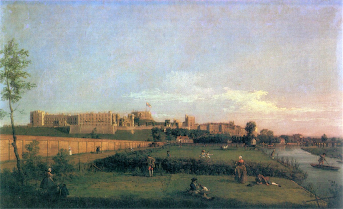 Windsor Castle by Canaletto  Print