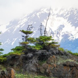 Alaska Scenery Pictures - Cliffs and Mountains