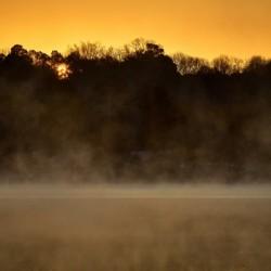 Sunrise at Langley Pond Park   Aiken SC 7R301594 12 19 20