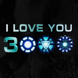 I Love You 3000 Blue