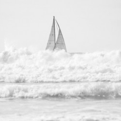 SAILING IN THE SURF