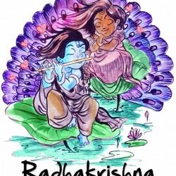 Radha Krishna As Children Asp Arts