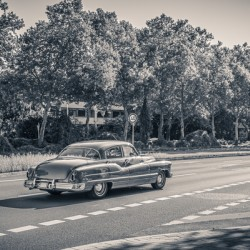 American oldtimer car from the 1950s
