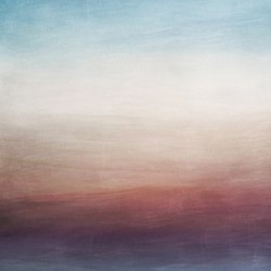Misty Horizon 01 - Abstract Wall Art
