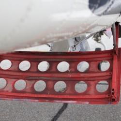 WWII Airplane Part Rudder