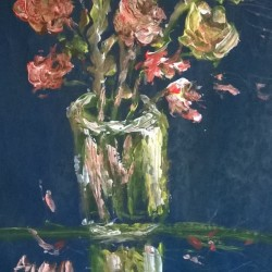 reflection vase
