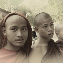 Buddhist students