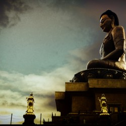 Buddha Statue in Buthan