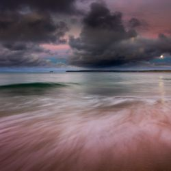 Carbis Bay moonlight