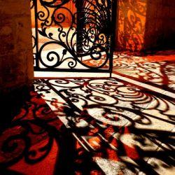 Courtyard shadows