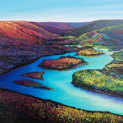 Fall Arrives at Peace River