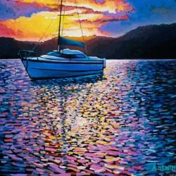 Moberly Lake Sunset