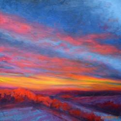 Montney Sunset