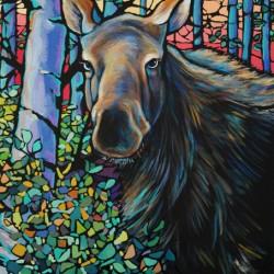 Moose In Summer